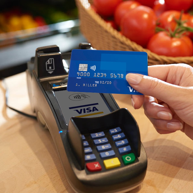 Using contactless card with terminal